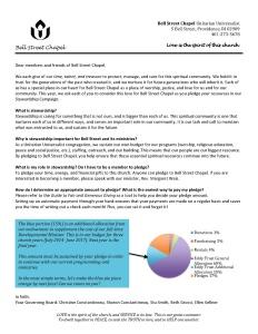 Pledge Letter 2016-2017