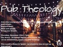 Pub Theology Dec