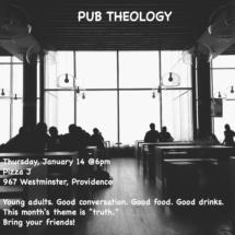 Pub Theology Jan