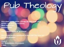 Pub Theology Nov