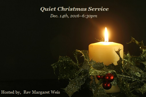 Quiet Christmas - Special Service