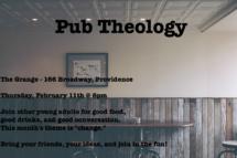 Pub Theology Feb 2016